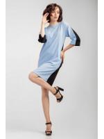 Платье «Мерилин» голубого цвета
