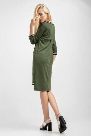 Платье «Рей» цвета хаки