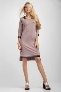 Сукня «Рей» кольору пудри