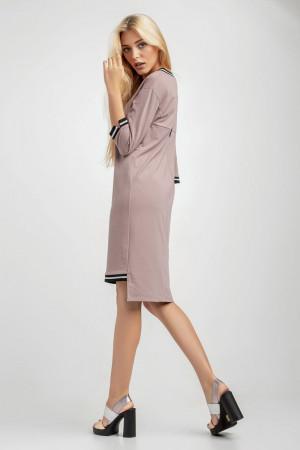 Платье «Рей» цвета пудры