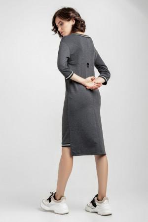 Платье «Рей» цвета антрацит