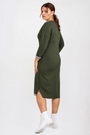 Сукня «Айдол» кольору хакі