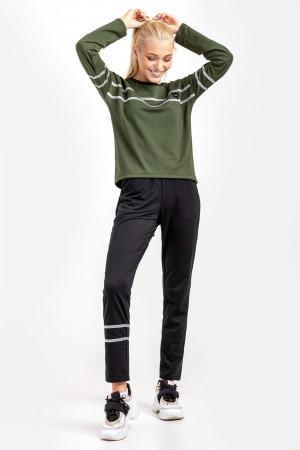 Спортивний костюм «Бінді» кольору хакі