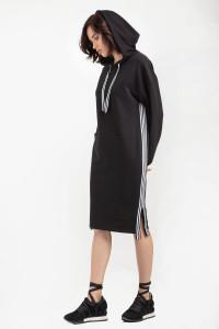 Платье «Делия» черного цвета