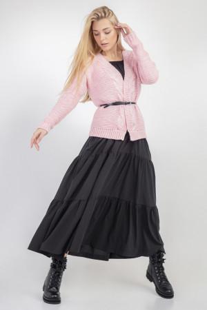 Кардиган «Руперти» розового цвета