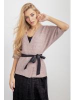 Кардиган «Сандра» розового цвета
