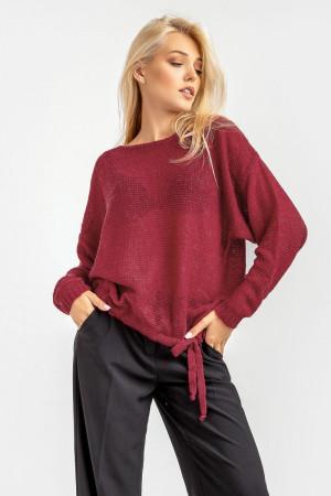 Джемпер «Сэнди» бордового цвета