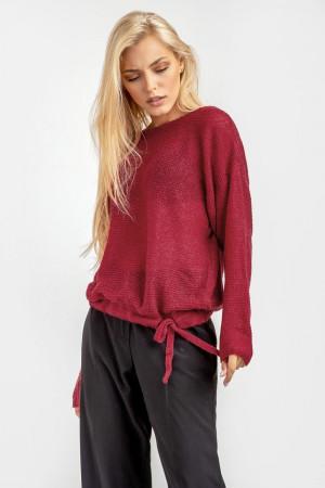 Джемпер «Сенді» бордового кольору