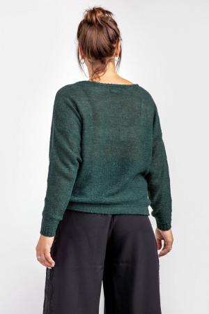 Джемпер «Сэнди» зеленого цвета