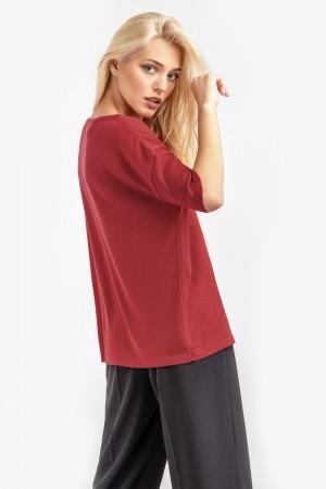 Джемпер «Гарнет» червоного кольору