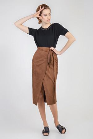 Спідниця «Моніка» коричневого кольору