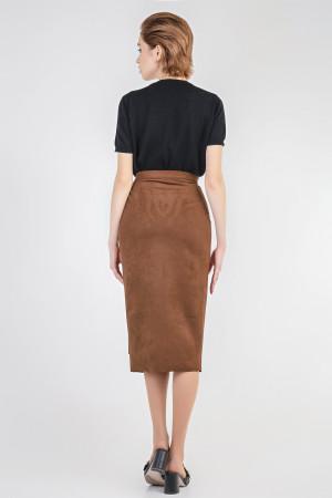 Юбка «Моника» коричневого цвета