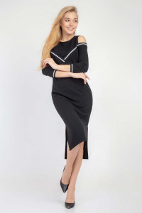 Сукня «Беккі» чорного кольору