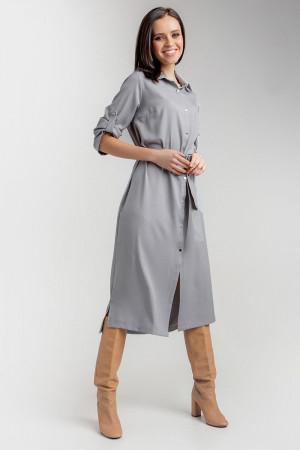 Платье «Ясмина» серого цвета