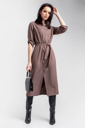 Платье «Ясмина» цвета капучино