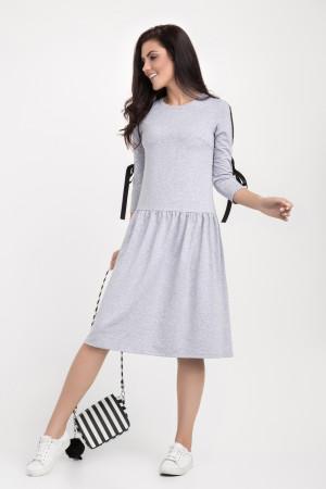 Сукня «Еббі» сірого кольору