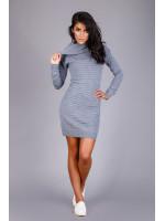 Платье «Лагия» цвета серый меланж