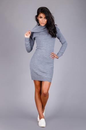 Сукня «Лагія» кольору сірий меланж