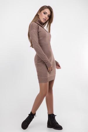 Платье «Лагия» бежевого цвета