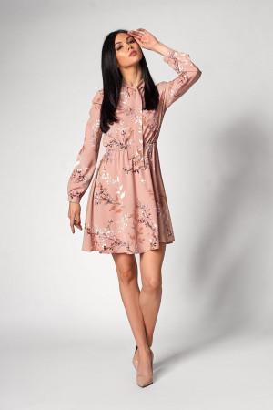 Платье «Сандрин» пудрового цвета