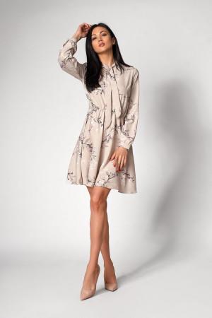 Платье «Сандрин» серого цвета