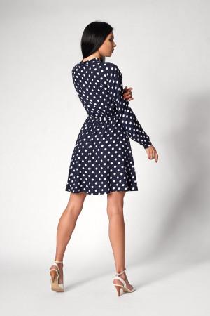 Платье «Глэнфи» темно-синего цвета