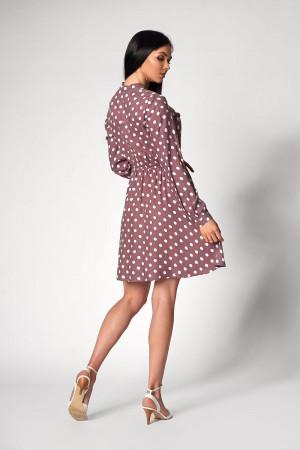 Платье «Глэнфи» цвета мокко