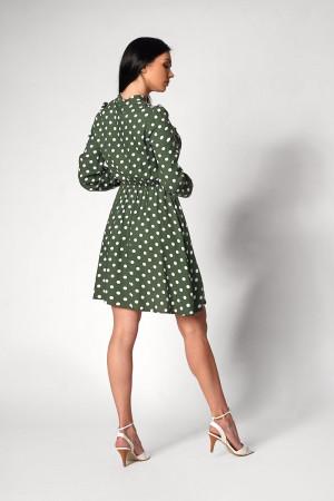 Платье «Глэнфи» цвета хаки