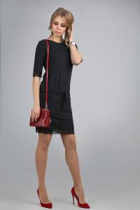 Сукня «Ненсі» чорного кольору