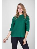 Джемпер «Пантина» зеленого кольору