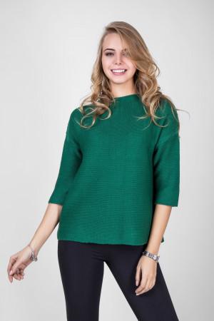 Джемпер «Пантина» зеленого цвета
