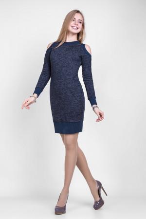 Платье «Рут» синего цвета