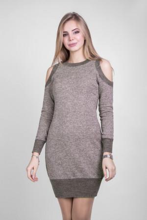 Платье «Рут» цвета капучино