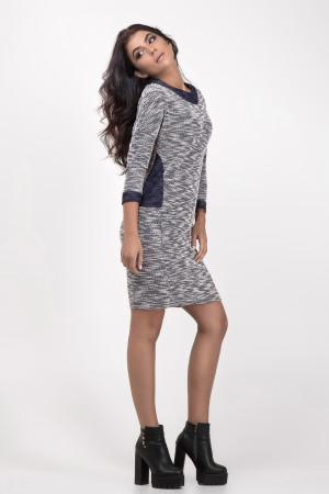 Платье «Ребекка» синего цвета