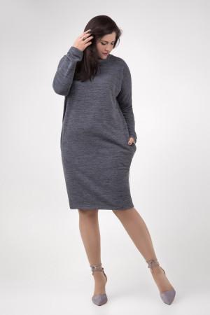 Платье «Патриция» серого цвета