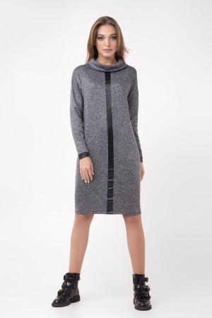 Платье «Джоан» серого цвета