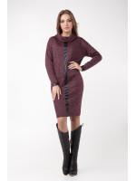 Платье «Джоан» бордового цвета