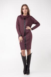 Сукня «Джоан» бордового кольору