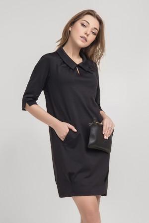 Платье «Вики» черного цвета