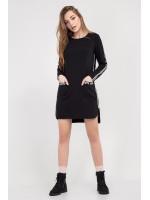 Платье-туника «Уиллоу» черного цвета