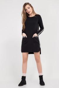 Сукня-туніка «Уіллоу» чорного кольору