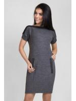 Сукня-туніка «Дороті» сірого кольору