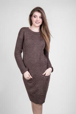 Платье «Шебби» цвета капучино