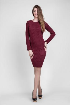 Сукня «Шеббі» бордового кольору