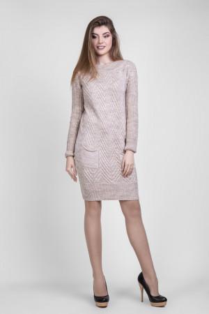 Платье «Шебби» цвета льна