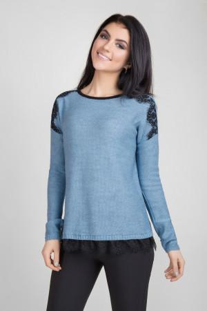 Джемпер «Бонна» синьо-блакитного кольору