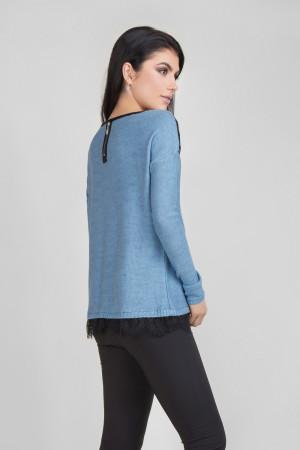 Джемпер «Бонна» сине-голубого цвета