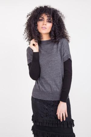 Джемпер «Лилль» серого цвета