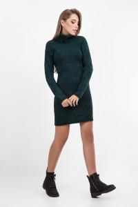 Платье «Пенелопа» темно-зеленого цвета