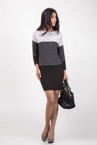 Сукня «Лаура» сірого кольору